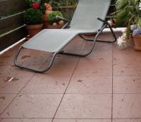 Boden Für Balkon balkon mit boden belä aus wetterfesten kunststoff fliesen klick